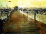Dawn, City Dock Naples