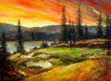 Evening Glory, Gozzer Ranch
