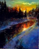 Warm Winters Sunset